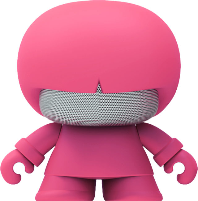 Wireless speaker Bluetooth® Xboy Xoopar (pink) - Packshot
