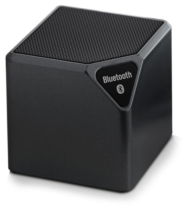 Wireless portable speaker (metallic black) - Packshot