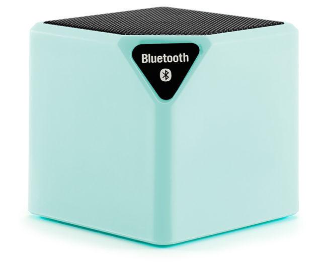 Wireless portable speaker (sea-green) – Packshot