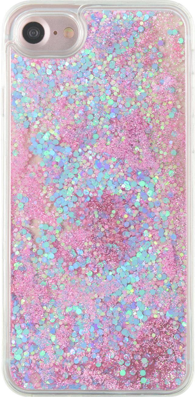 Sparkling liquid hard case (pink and blue) - Packshot