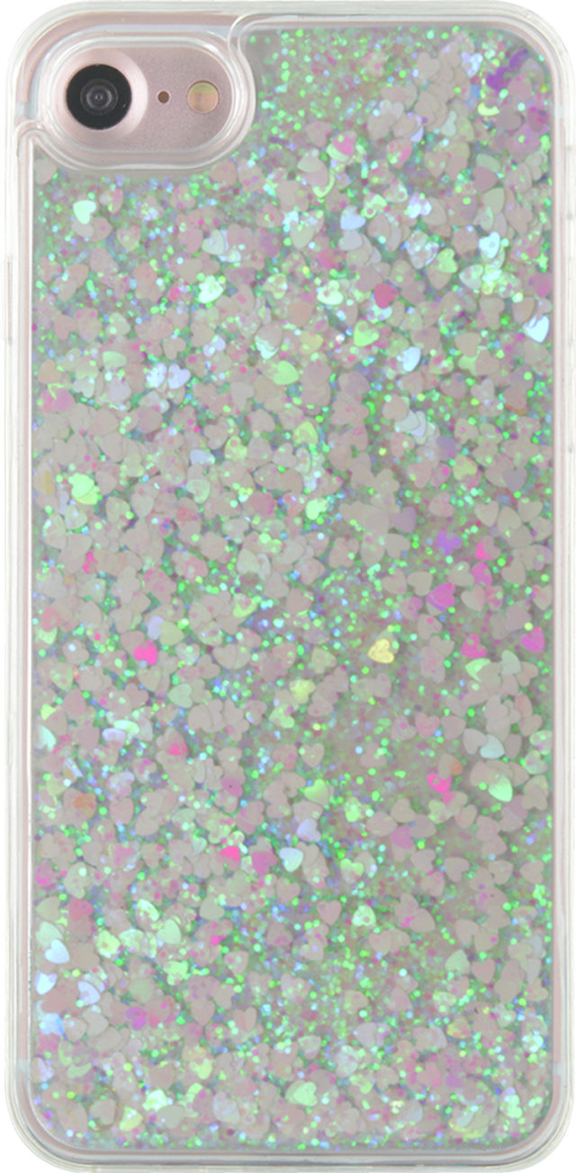 Sparkling liquid hard case (white) - Packshot