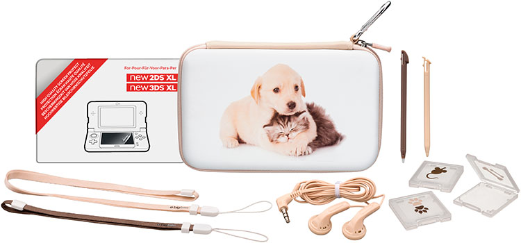 Pack essential limited edition baby animals for Housse nintendo 2ds