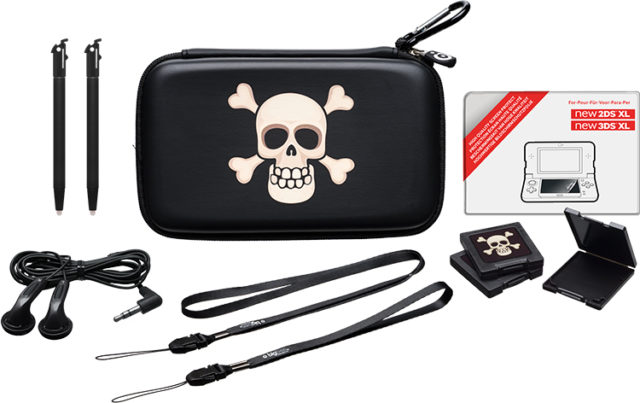 "Pack ""essential"" for Nintendo New 2DS™ XL/ Nintendo New 3DS™ XL(limited edition""pirate"") - Packshot"