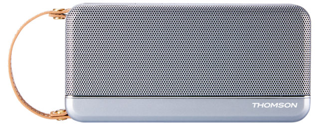 THOMSON Wireless Portable Speaker (silver) - Packshot