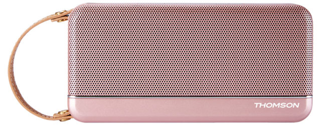 THOMSON Wireless Portable Speaker (pink metallic) - Packshot