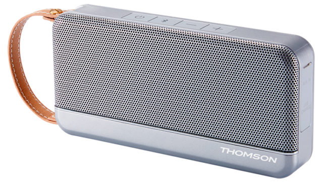 THOMSON Wireless Portable Speaker (silver) – Image