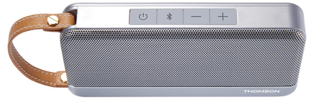 THOMSON Wireless Portable Speaker (silver) – Image  #1