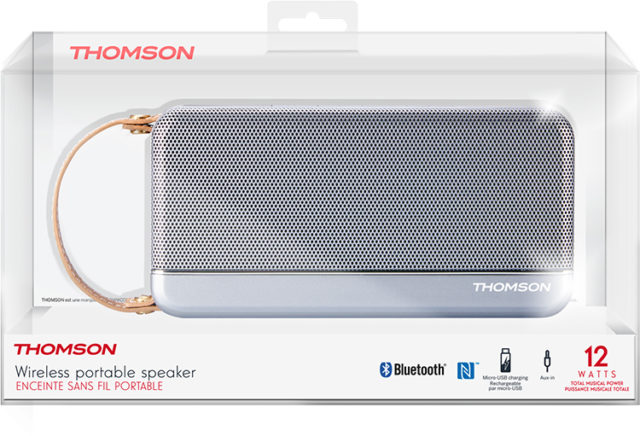 THOMSON Wireless Portable Speaker (silver) – Image  #2tutu