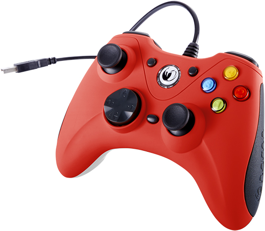 NACON PC Game Controller (Red) – Image