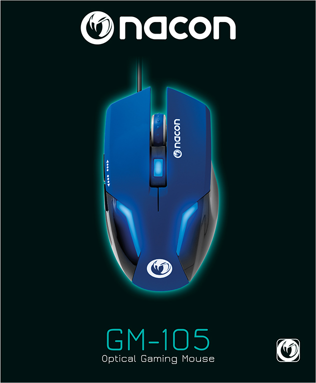 Nacon Optical Mouse (Blue) – Image  #1