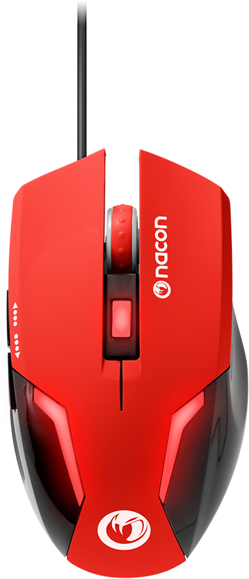 Nacon Optical Mouse (Red) – Image  #2tutu