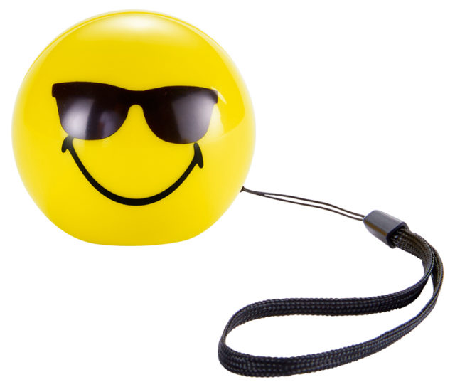 Wireless portable speaker (cool) BT15SMILEYCOOL Smiley® - Packshot