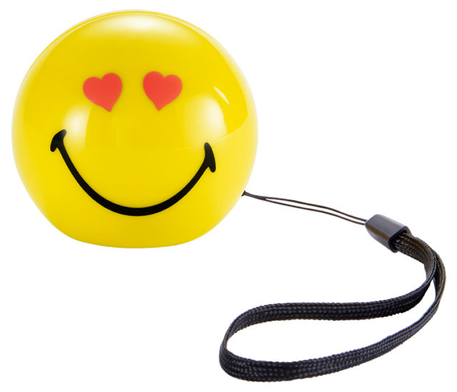 Wireless portable speaker (love) BT15SMILEYLOVE Smiley® - Packshot