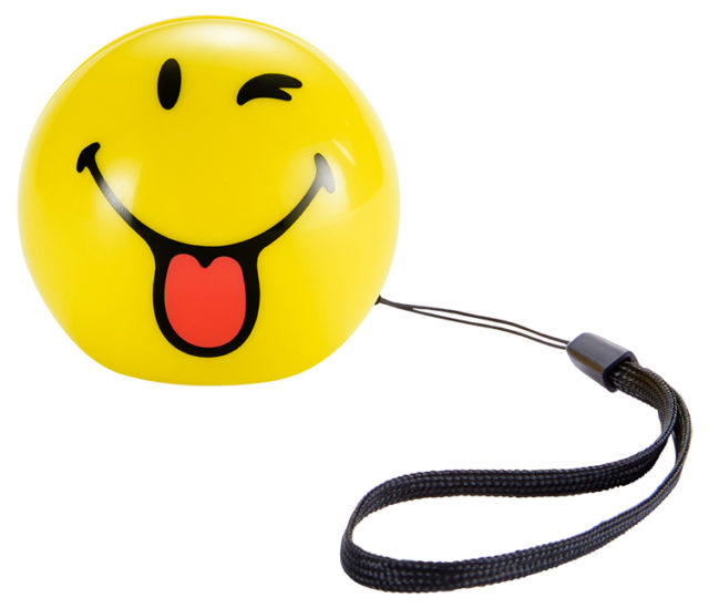 Wireless portable speaker (wink) BT15SMILEYWINK Smiley® - Packshot