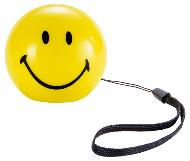 Wireless portable speaker BT15SMILEY Smiley® – Packshot