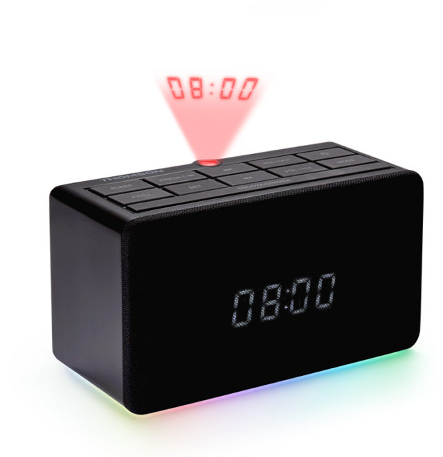 Alarm clock radio with projector CL300P THOMSON - Packshot