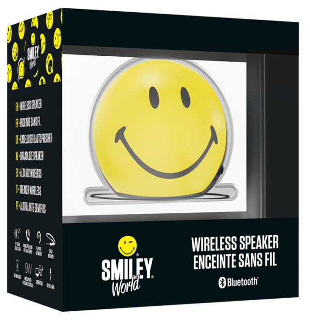 Wireless portable speaker BT15SMILEY Smiley® – Image  #2tutu
