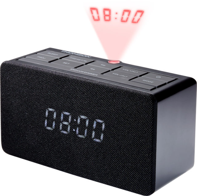 Alarm clock radio with projector CL300P THOMSON – Image  #2tutu#3