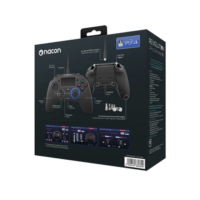 Revolution Pro Controller 2 official licensed for PlayStation® 4 PS4OFPADREV2UK NACON – Image  #2tutu