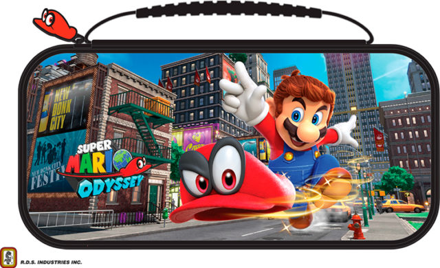 """Deluxe travel case official RDS™* """"Mario Odyseey"""" NNS58 - Packshot"""