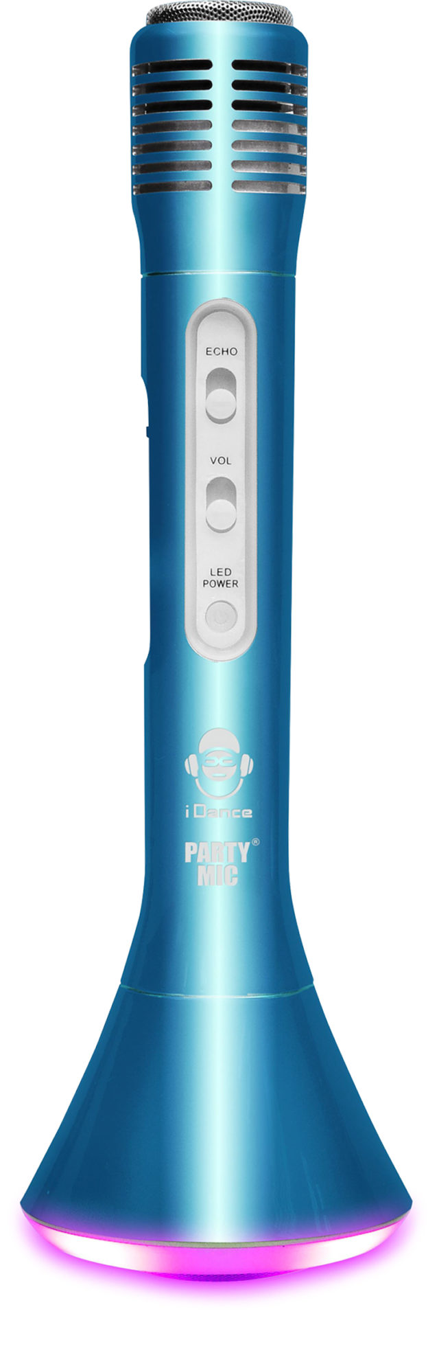 Bluetooth microphone with light PM10BL I DANCE - Packshot