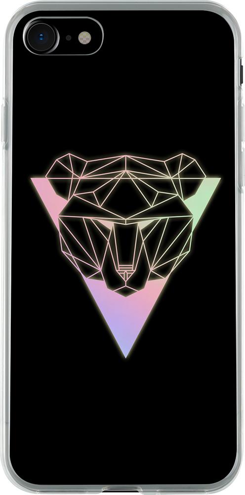 Hard case holographic (bear) - Packshot
