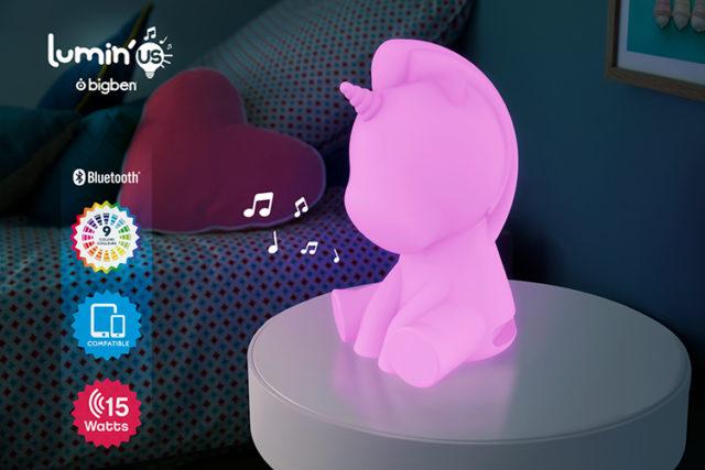 Wireless Luminous speaker Lumin'us (unicorn) BTLSUNICORN BIGBEN – Image  #2tutu#4tutu#6tutu#8tutu#10tutu