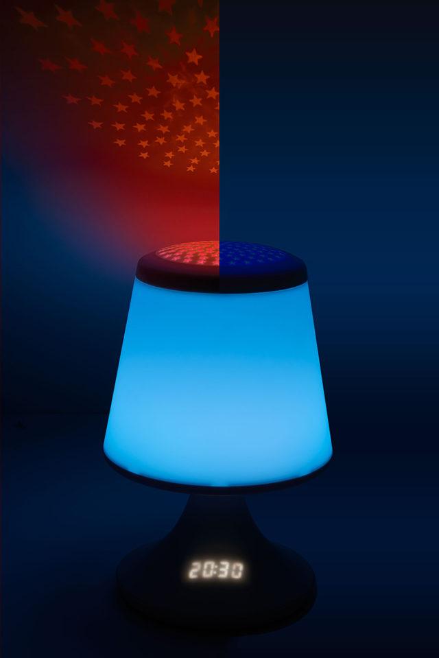 luminous alarm clock with projector – Image  #2tutu#4tutu#6tutu