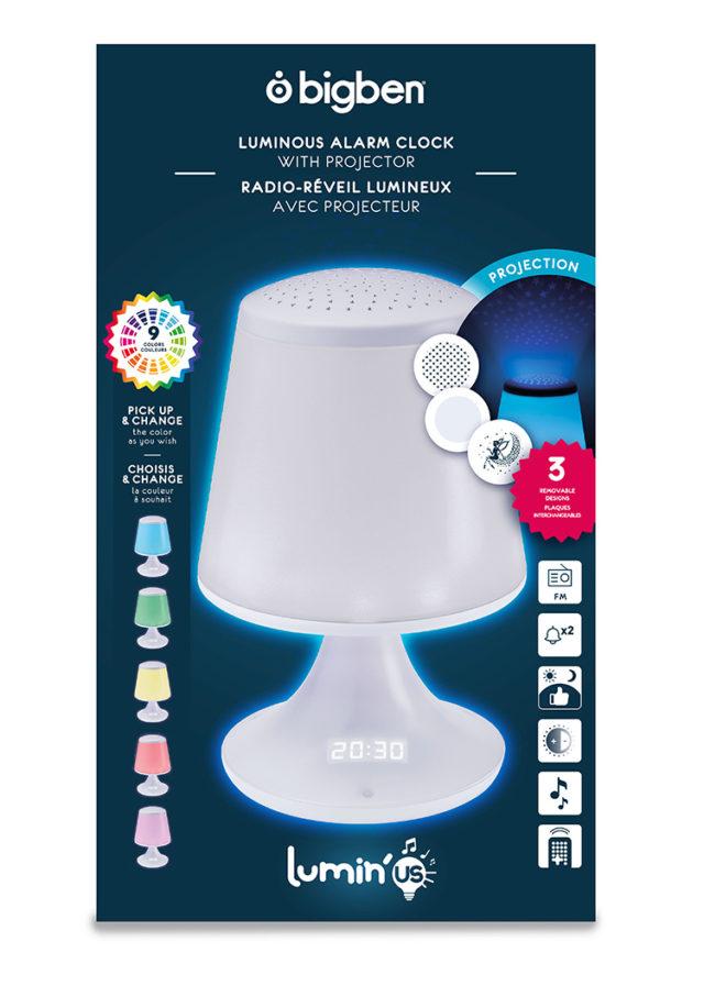luminous alarm clock with projector – Image  #2tutu#4tutu#6tutu#8tutu