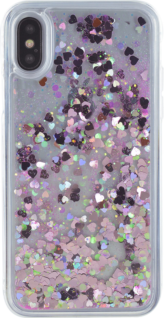 Sparkling liquid hard case (pink) – Packshot