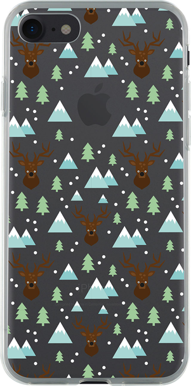 Semi-rigid case clear (Winter time) - Packshot