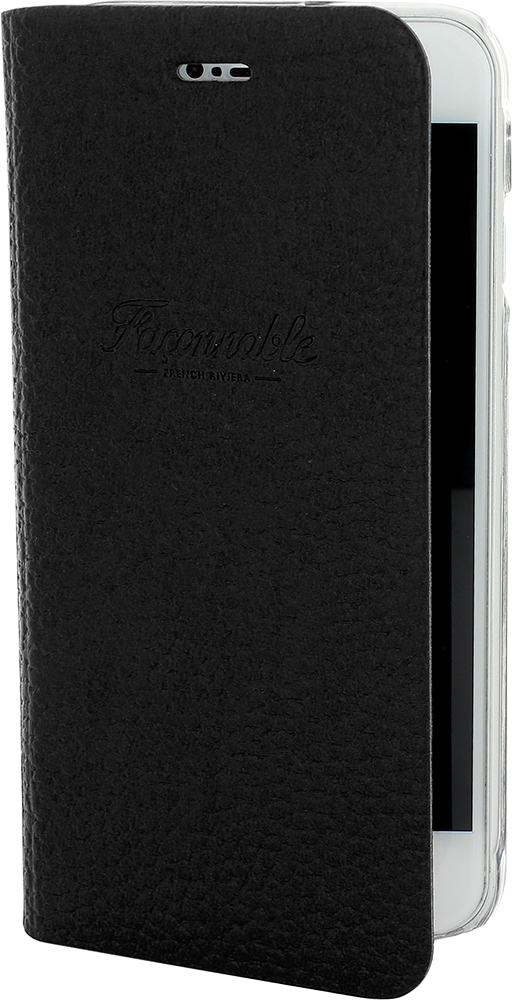 FACONNABLE Flap Case French Riviera (Black) - Packshot