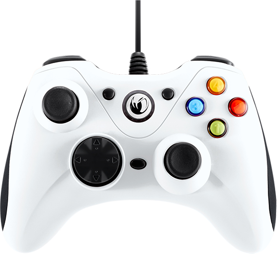 NACON PC Game Controller (Orange) PCGC-100WHITE - Packshot