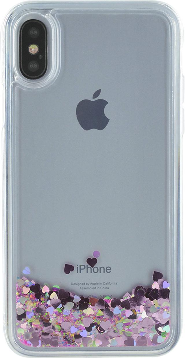 Sparkling liquid hard case (pink) – Image