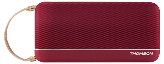 THOMSON Wireless Portable Speaker (red metallic) WS02RM THOMSON – Packshot