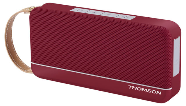 THOMSON Wireless Portable Speaker (red metallic) WS02RM THOMSON – Image