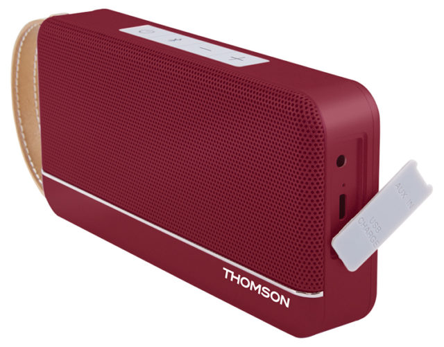 THOMSON Wireless Portable Speaker (red metallic) WS02RM THOMSON – Image  #1