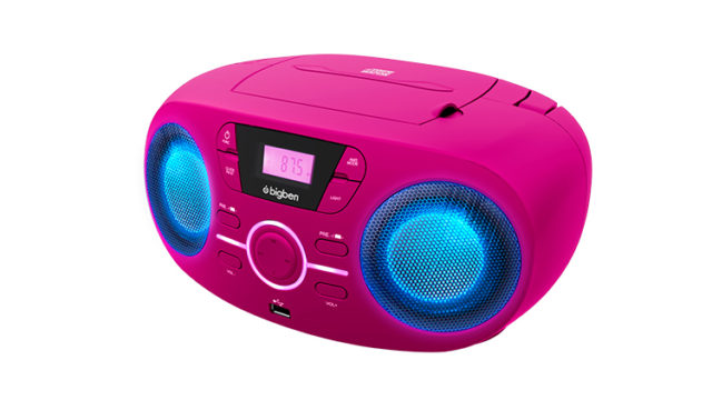 Portable CD/USB player with light effects CD61RUSB BIGBEN – Image  #1