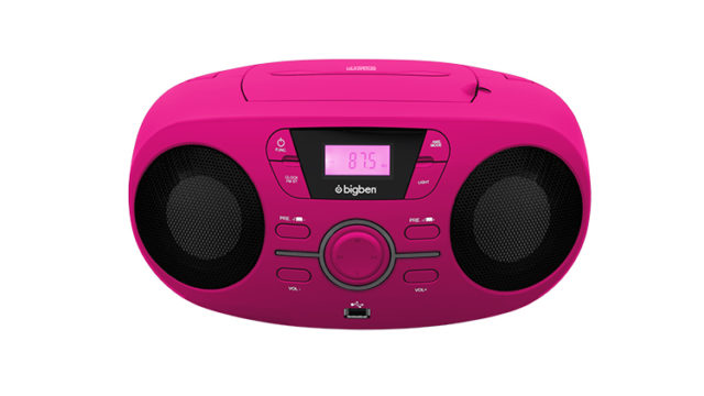 Portable CD/USB player with light effects CD61RUSB BIGBEN – Image  #2tutu