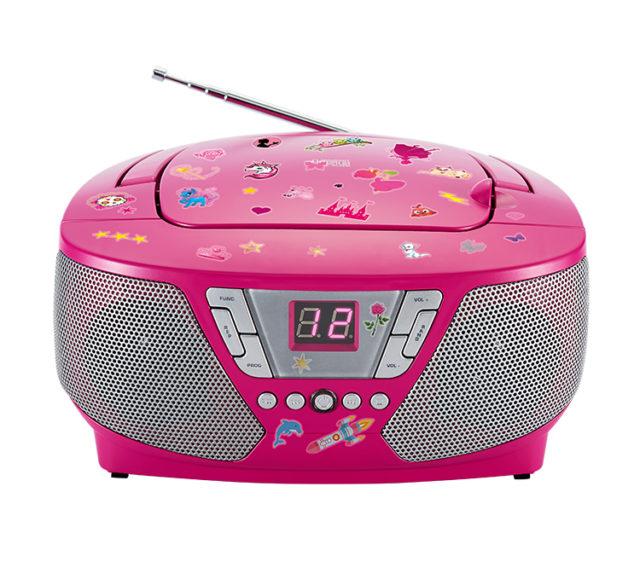 Portable radio/CD player CD60RSSTICK BIGBEN - Packshot