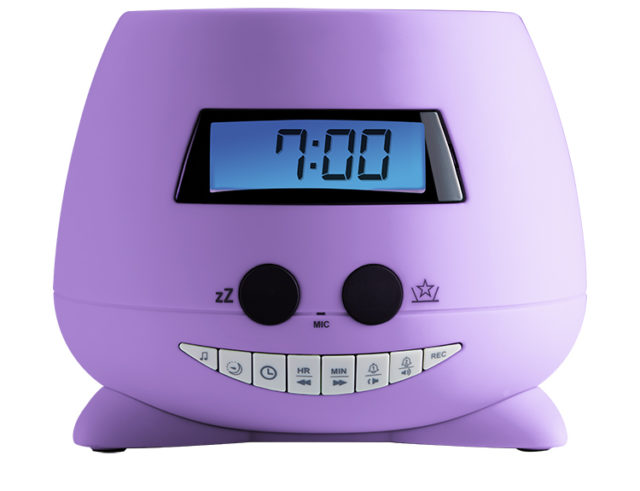Alarm clock with projector (my Violet) RPEUNICORN BIGBEN KIDS – Packshot