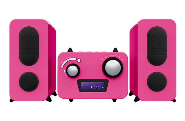 Micro system with CD player MCD11RSUNICORNSTICK BIGBEN KIDS – Image