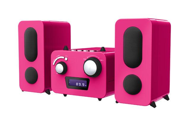 Micro system with CD player MCD11RSUNICORNSTICK BIGBEN KIDS – Image  #2tutu