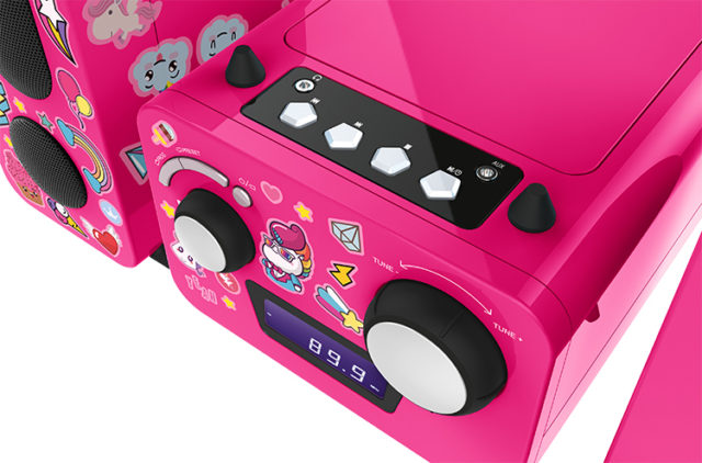 Micro system with CD player MCD11RSUNICORNSTICK BIGBEN KIDS – Image  #2tutu#3