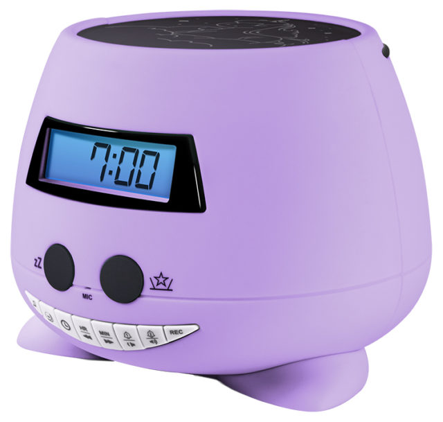 Alarm clock with projector (my Violet) RPEUNICORN BIGBEN KIDS – Image  #1