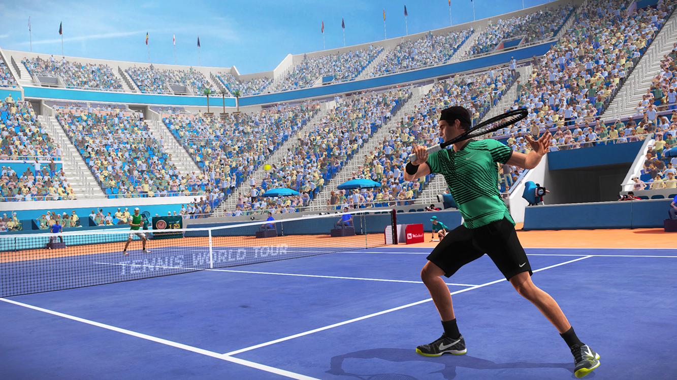 Tennis World Tour Legends Edition – Screenshot