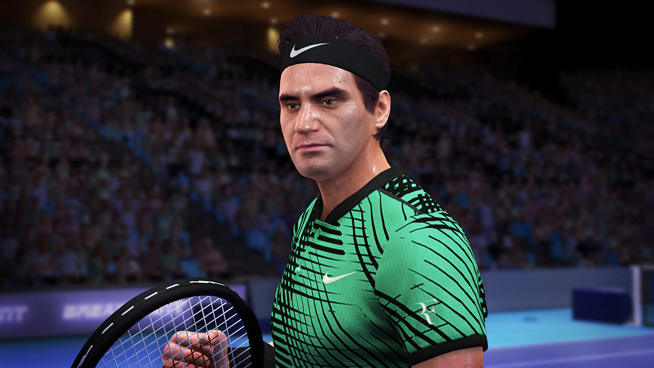 Tennis World Tour Legends Edition – Screenshot#1