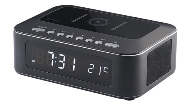 Clock radio with wireless charger CR400IBT THOMSON – Image