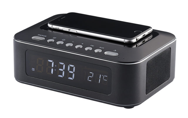 Clock radio with wireless charger CR400IBT THOMSON – Image  #1