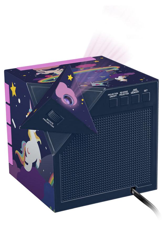 Dual radio alarm clock with projector RR70PUNICORN BIGBEN KIDS – Image  #2tutu